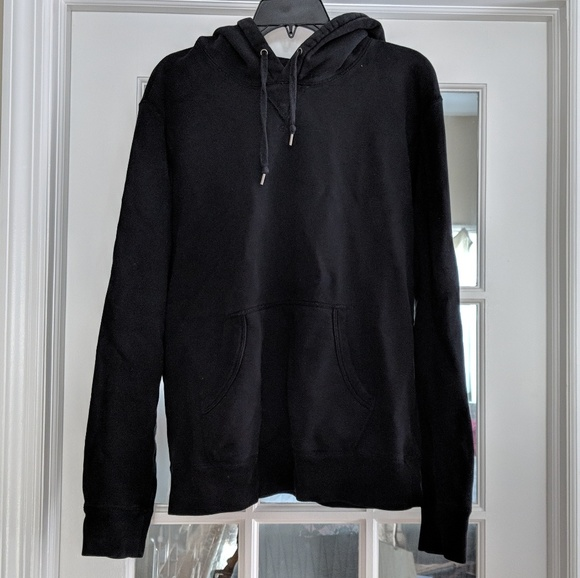 authentic quality sophisticated technologies latest collection Men's black Uniqlo hoodie sweatshirt